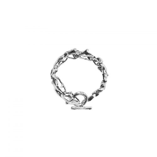 Delicate Breaking Chains Bracelet